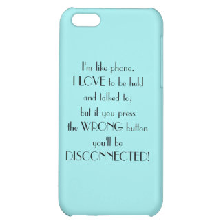 Tiffany Blue Funny Saying iPhone 5C Covers