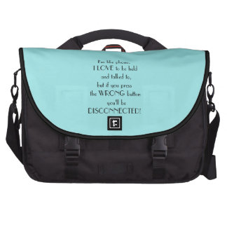 Tiffany Blue Funny Saying Commuter Bags