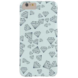 Tiffany Blue Geometric Diamond iPhone 6 PLUS Case