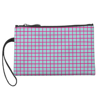 Tiffany Blue & Pink Pattern Custom Mini Clutch