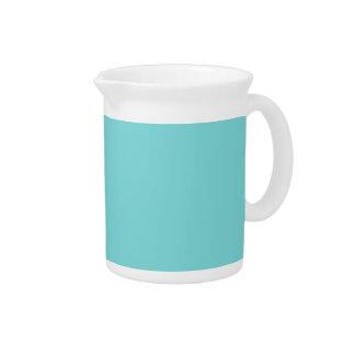 TIFFANY BLUE (solid color) ~ Beverage Pitchers