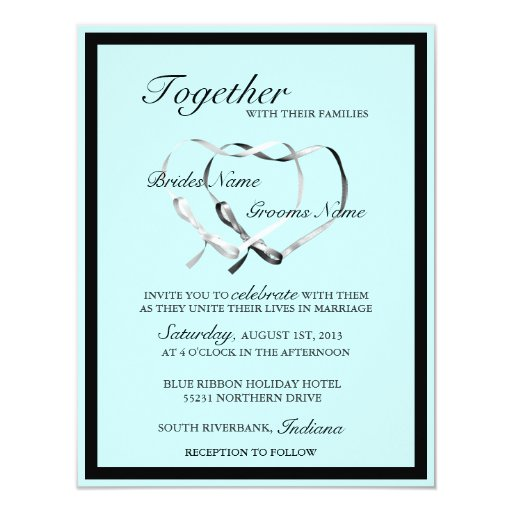 Wedding invitation wording knot yaseen for for The knot wedding invitation language