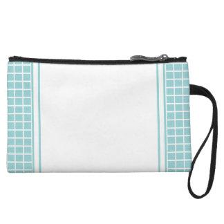 Tiffany Blue & White Custom Mini Clutch