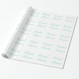 Tiffany Blue wrapping paper - Bridal Shower