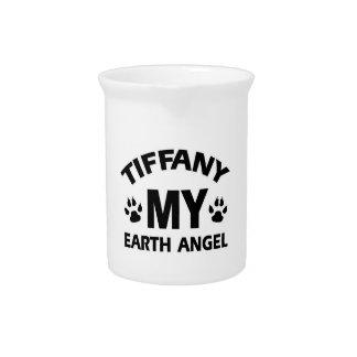 TIFFANY CAT DEsign Pitchers