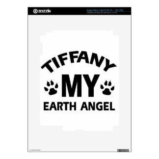 Tiffany  cat design skin for iPad 3