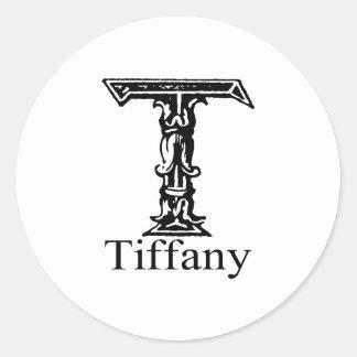 Tiffany Classic Round Sticker