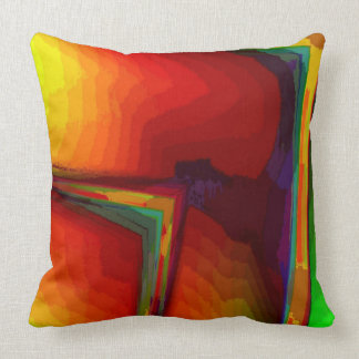 Tiffany Cotton Throw Pillow & Both Sides Colored
