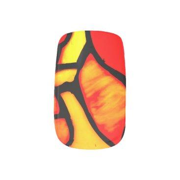 McTiffany Tiffany Aqua TIFFANY DESIGN nails Minx Nail Wraps