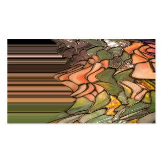 Tiffany Glass Business Card