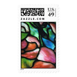Tiffany Glass Postage