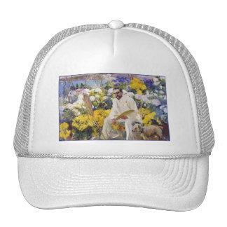 Tiffany in his Garden by Joaquin Sorolla Trucker Hat