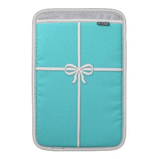 Tiffany-inspirado, azul del huevo de los petirrojo funda macbook air