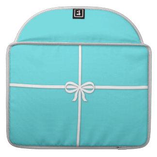 Tiffany-inspirado, azul del huevo de los petirrojo funda para macbook pro
