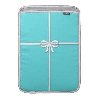 Tiffany-inspirado, azul del huevo de los petirrojo fundas para macbook air