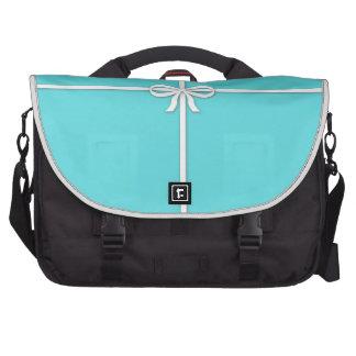 Tiffany-inspired, robins egg blue computer bag