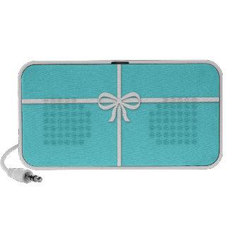 Tiffany-inspired, robins egg blue iPhone speaker