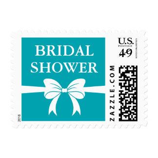 Tiffany inspiró franqueo nupcial de la ducha sellos