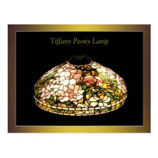 Tiffany Lamp Fine Art Excellent Postcard