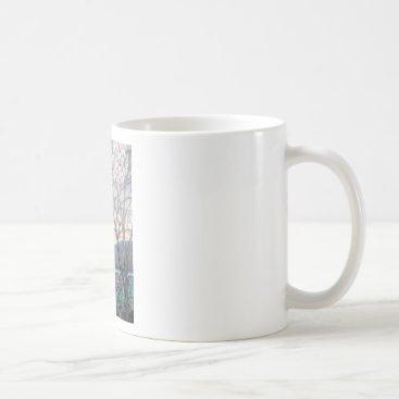 McTiffany Tiffany Aqua TIFFANY MAGNOLIAS COFFEE MUG