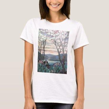 McTiffany Tiffany Aqua TIFFANY MAGNOLIAS T-Shirt