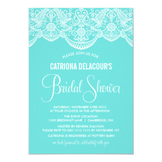 Tiffany Bridal Shower Invitations Announcements Zazzle