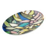 Tiffany Mosaic Porcelain Serving Platter