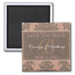 Tiffany Pink Elegant SAVE THE DATE Magnet