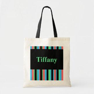 Tiffany Pretty Striped Tote Bag