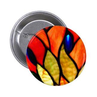 Tiffany Rust Button