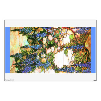 Tiffany Stained Glass Art Nouveau Wall Decal