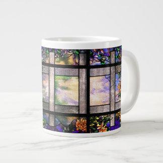 Tiffany Stained Glass Jumbo Mug 20 Oz Large Ceramic Coffee Mug