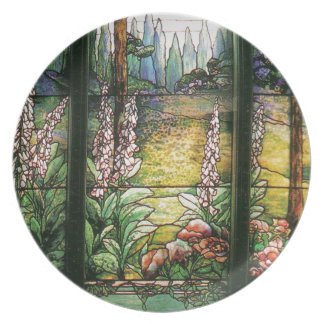 Tiffany Stained Glass Plate