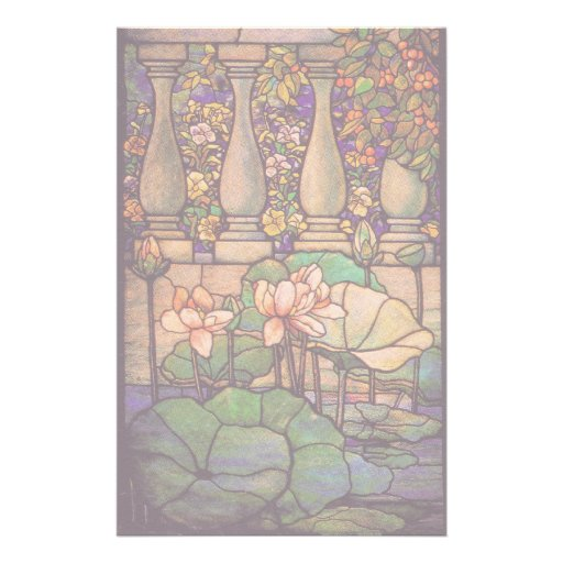 Tiffany Stained Glass Stationery