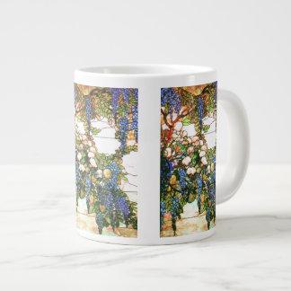 Tiffany Stained Glass Wisteria Jumbo Mug