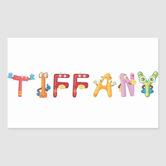Tiffany Sticker