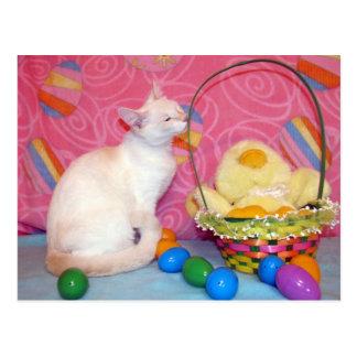 Tiffany's Easter Postcard