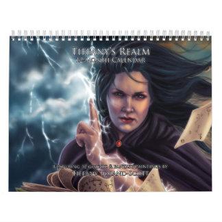 Tiffany's Realm 12-Month Calendar