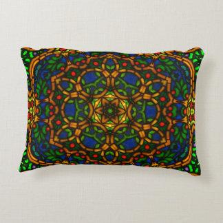 Tiffglow Mandala 1 Oblong Pillow