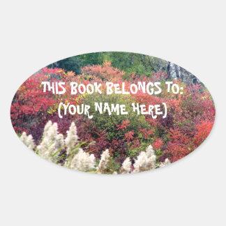 Tifft Nature Preserve - Fall Foliage Oval Sticker