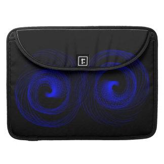 Tifón azul fundas para macbook pro