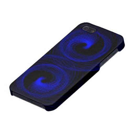 Tifón azul iPhone 5 carcasas