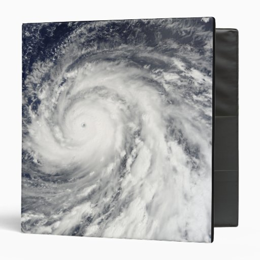 Tifón estupendo Choi-WAN sobre los Mariana Island