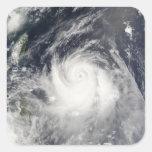 Tifón Ewiniar Pegatina Cuadrada