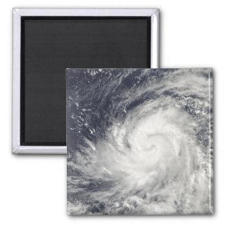 Tifón Lupit sobre el Océano Pacífico occidental Iman De Nevera