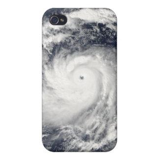 Tifón Nida en el Océano Pacífico iPhone 4 Cobertura