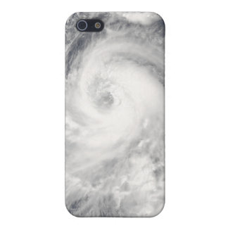 Tifón Tingting sobre la Mariana septentrional Isla iPhone 5 Funda
