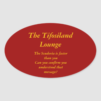 Tifosiland Lounge Gear Stickers