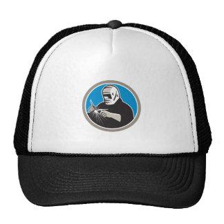 Tig Welder Welding Circle Retro Trucker Hat