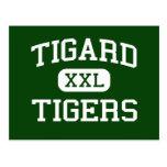 Tigard - Tigers - High School - Tigard Oregon Post Cards